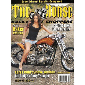 The Horse BackStreet Choppers Magazine Issue #83