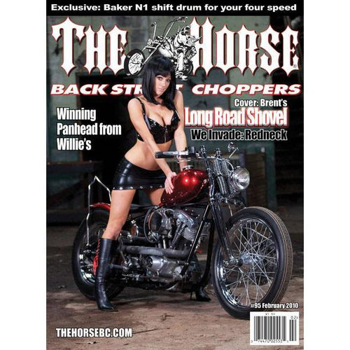 The Horse BackStreet Choppers Magazine Issue #95
