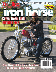 The Horse BackStreet Choppers Magazine Special #91 presents 'Iron Horse #166'