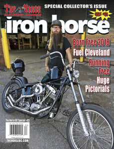 The Horse BackStreet Choppers Magazine Special #83 presents 'Iron Horse Magazine #165'