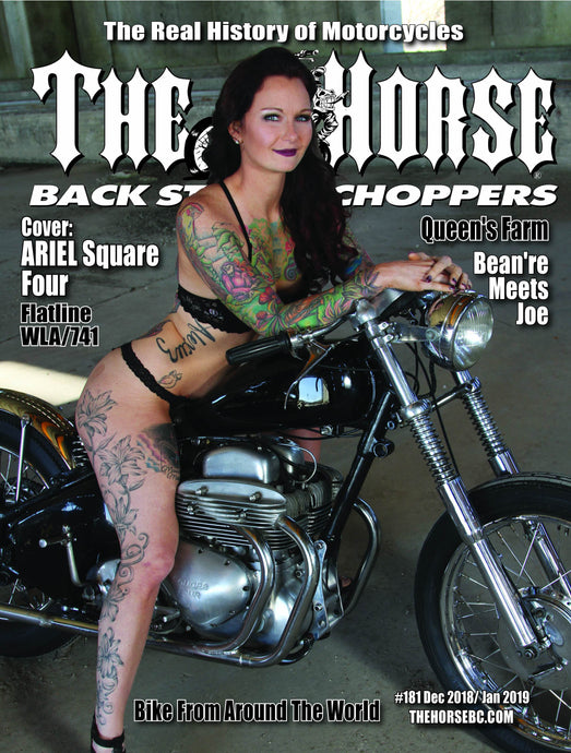 The Horse BackStreet Choppers Magazine Issue #181 December 2018/ January 2019