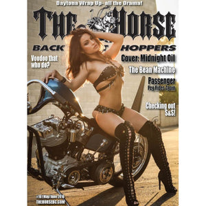 The Horse BackStreet Choppers Magazine Issue #161