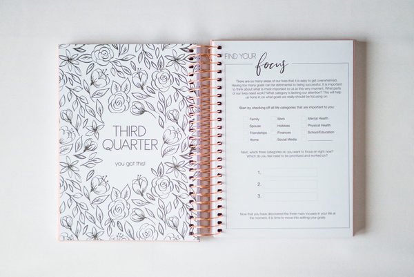 CLOUD, Notebook Style Planner