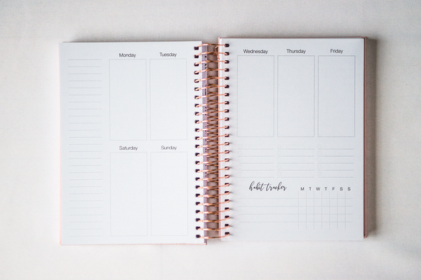MOON, Notebook Style Planner