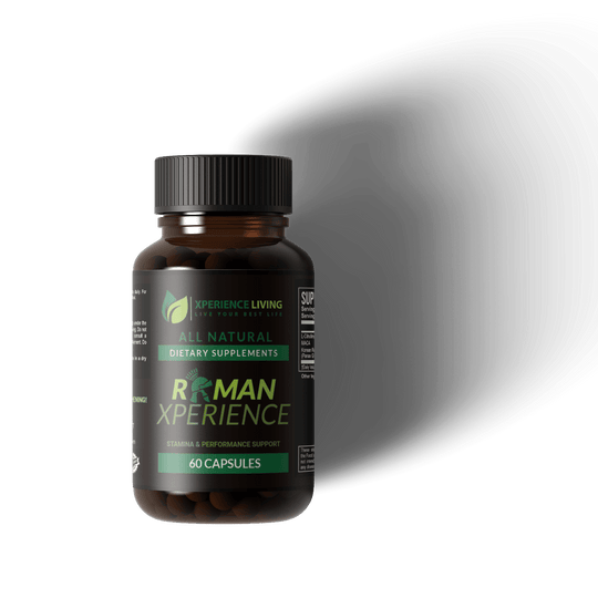 Roman Xperience - Xperience Living - All Natural ED Supplement For Men, Nitric Oxide booster, and blood flow support
