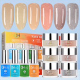 G6401 GHDip Nude Color Set Nail Dipping Powder Starter Kit