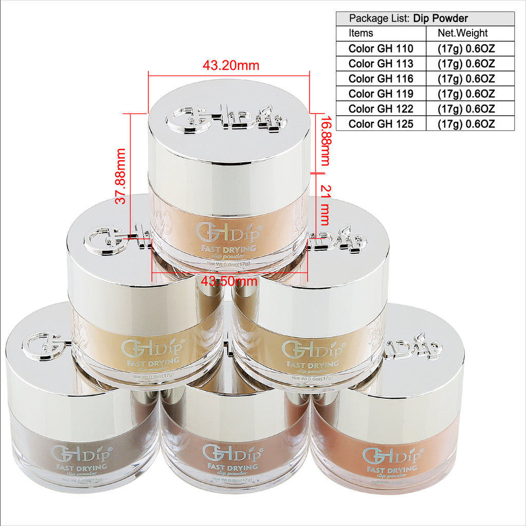 GHDip Dip Powder Nail Kit G6401(Shimmer Nude Color)