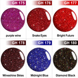 GHDip Dip Powder Nail Kit G6407(Glitter Red Color)
