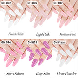 GHDip Dip Powder Nail Kit G641 (Pink&White French Nail Colors)