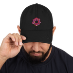 Donut Distressed Dad Hat