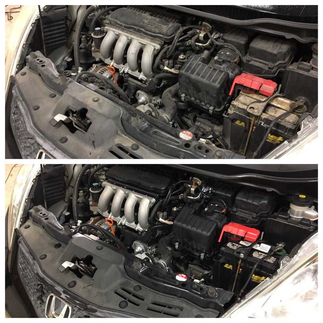 Engine Spray Out or Detail Only