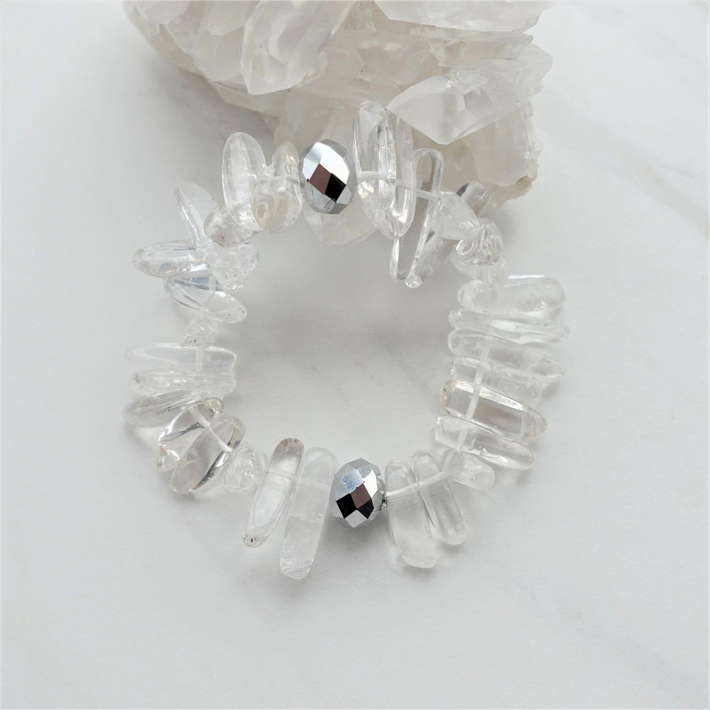 Quartz Crystal Manifestation Gemstone Bracelet