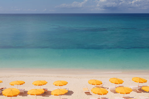 White sand in Grand Cayman