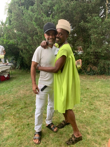 Francisco Costa and Billy Porter.
