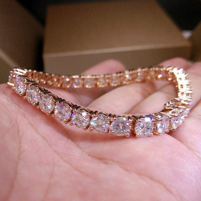 Four-claw 3A Zircon Bracelet
