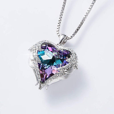 Heart & Wings Necklace