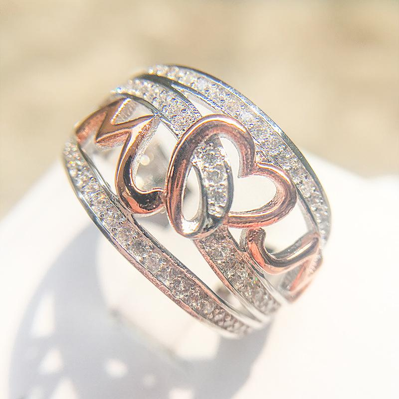 Mom's Heartbeat Sterling Silver Band Ring