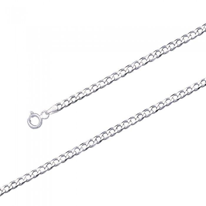 Curb Sterling Silver Chain CH3140