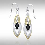 Blaque Black Spinel Earrings