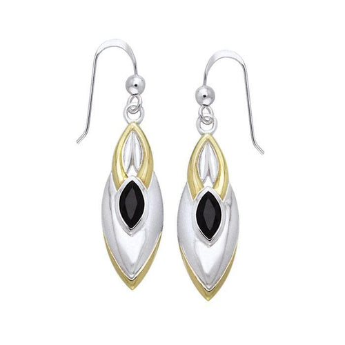 Blaque Black Spinel Earrings MER386 peterstone.
