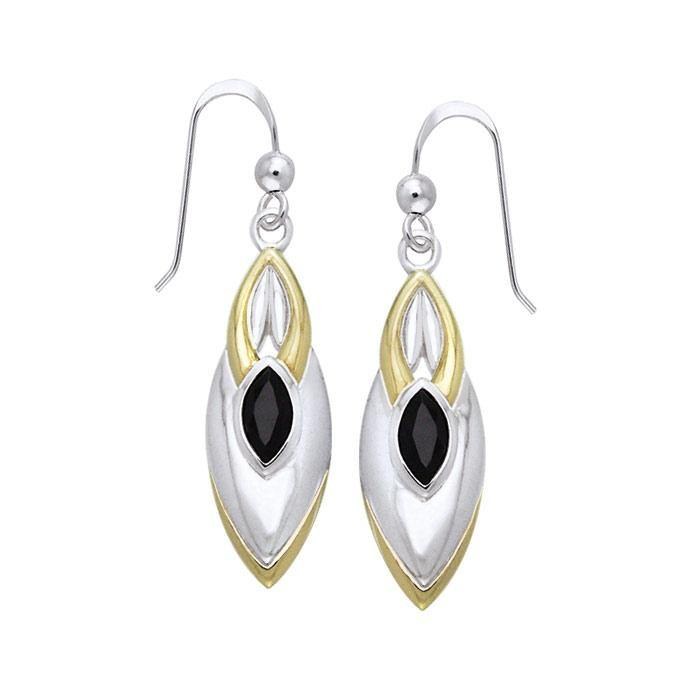Blaque Black Spinel Earrings MER386