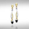 Blaque Triangle Twist Earrings MER400 peterstone.