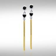 Blaque Pendant Earrings MER401