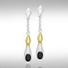 Blaque Pendant Earrings MER406 peterstone.