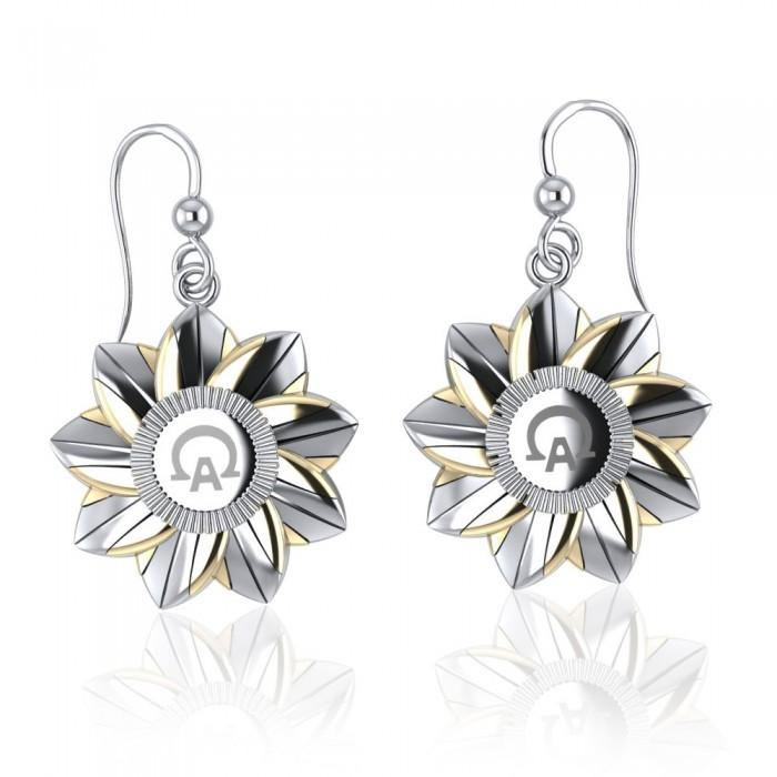 Alpha Omega Earrings MER513 peterstone.