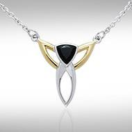 Blaque Triangle Necklace