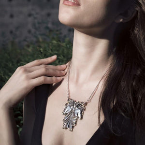 Inspired by Dali Body Shape Necklace MNC216