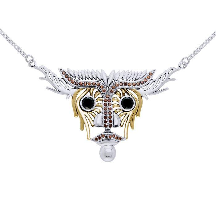 Inspired by Dali Animal Head Necklace MNC217