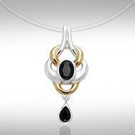 Blaque Interwoven Pendant