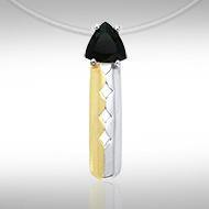 Blaque Triple Diamond Pendant MPD837