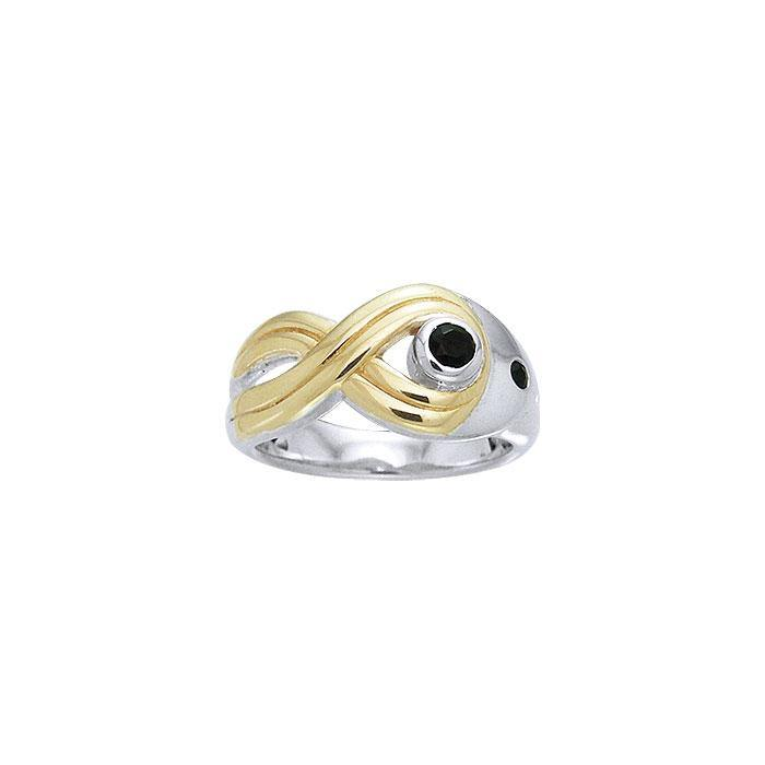 Blaque Twisted Ring MRI462 peterstone.