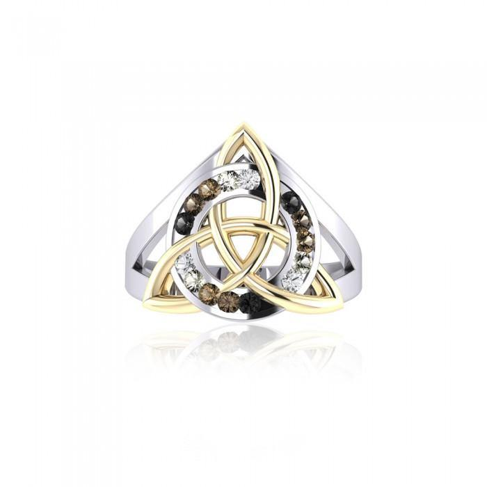 Celtic Trinity Knot Ring MRI658