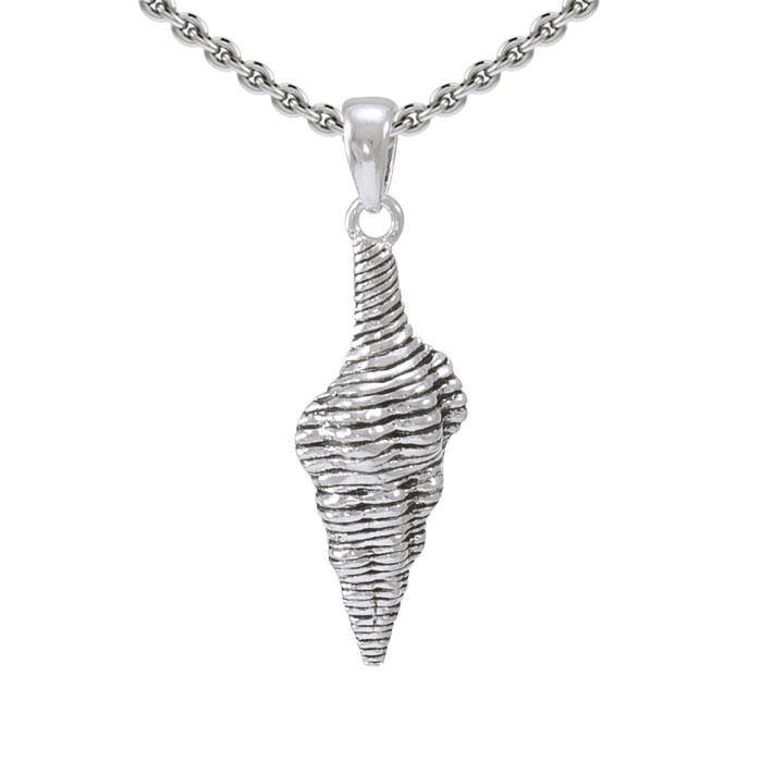 Seashell Sterling Silver Pendant SP010 peterstone.