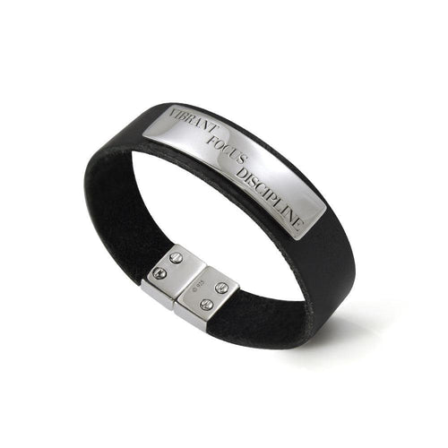 Words That Matter Leather bracelet with Magnetic Lock TBA208
