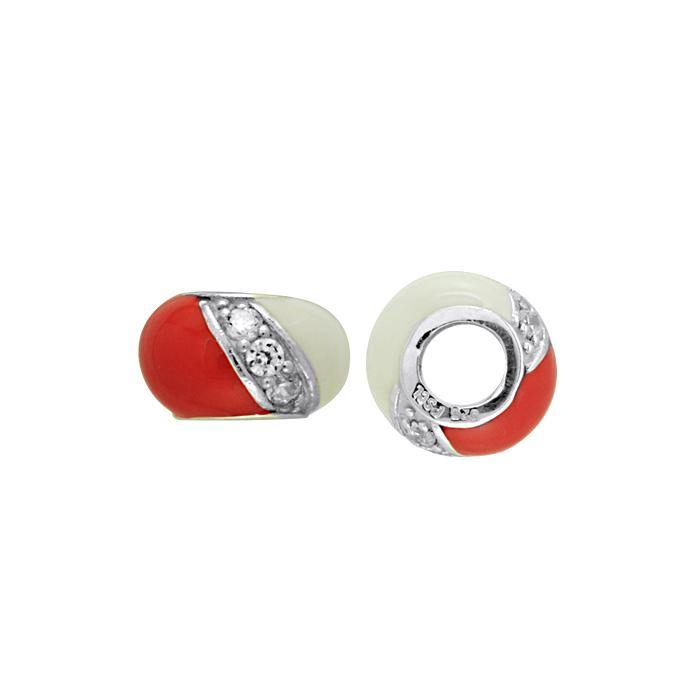 Dive Flag Sterling Silver Bead TBD136