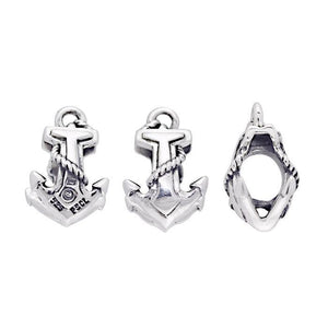 Anchor Sterling Silver Bead TBD152