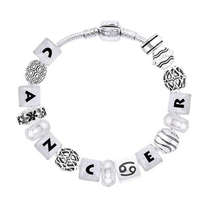 Cancer Astrology Bead Bracelet TBL330 peterstone.