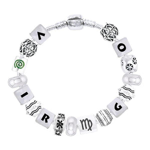 Virgo Astrology Bead Bracelet TBL334 peterstone.