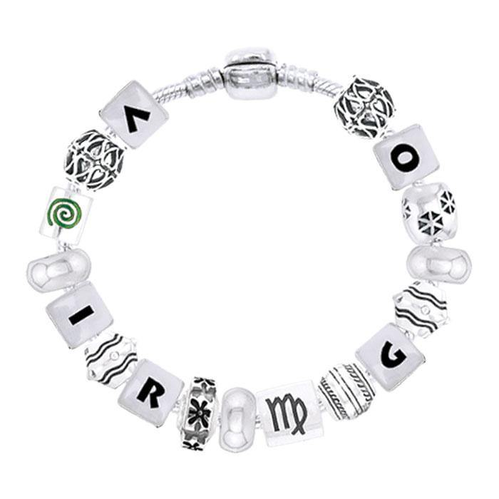 Virgo Astrology Bead Bracelet TBL334