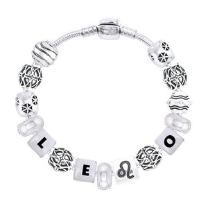 Leo Astrology Bead Bracelet TBL336 peterstone.