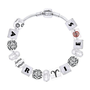 Aries Astrology Bead Bracelet TBL338 peterstone.