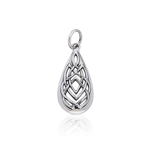 Celtic Knotwork Silver Charm TCM103 peterstone.