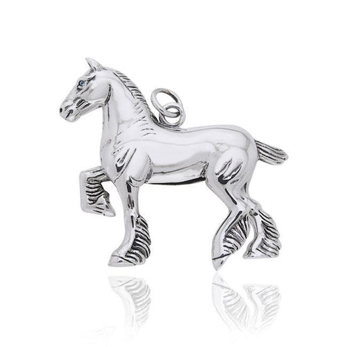 Draft Horse Charm TCM174 peterstone.