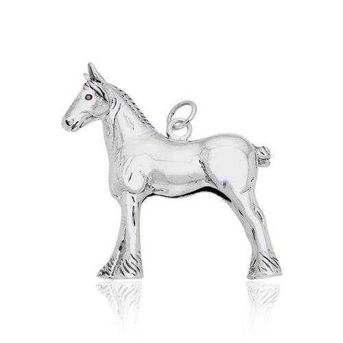 Draft Horse Charm TCM177 peterstone.