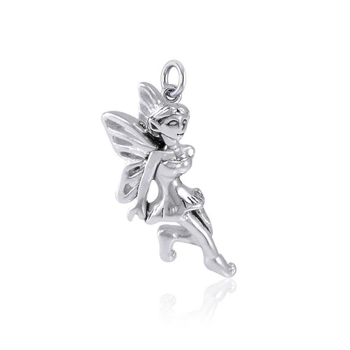 Enchanted Fairy Silver Charm TCM637 peterstone.