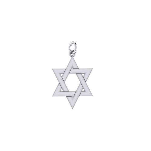 Star of David Silver Charm TCM669 peterstone.